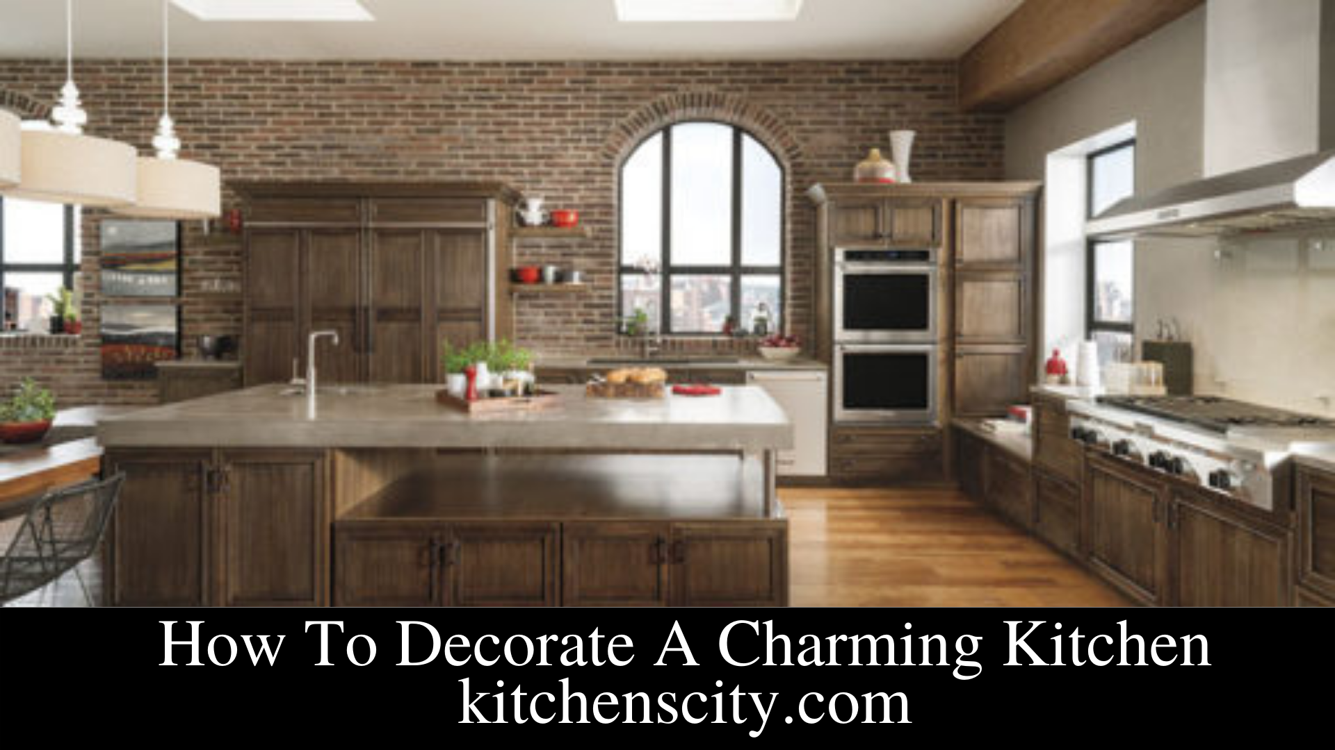 How To Decorate A Charming Kitchen
