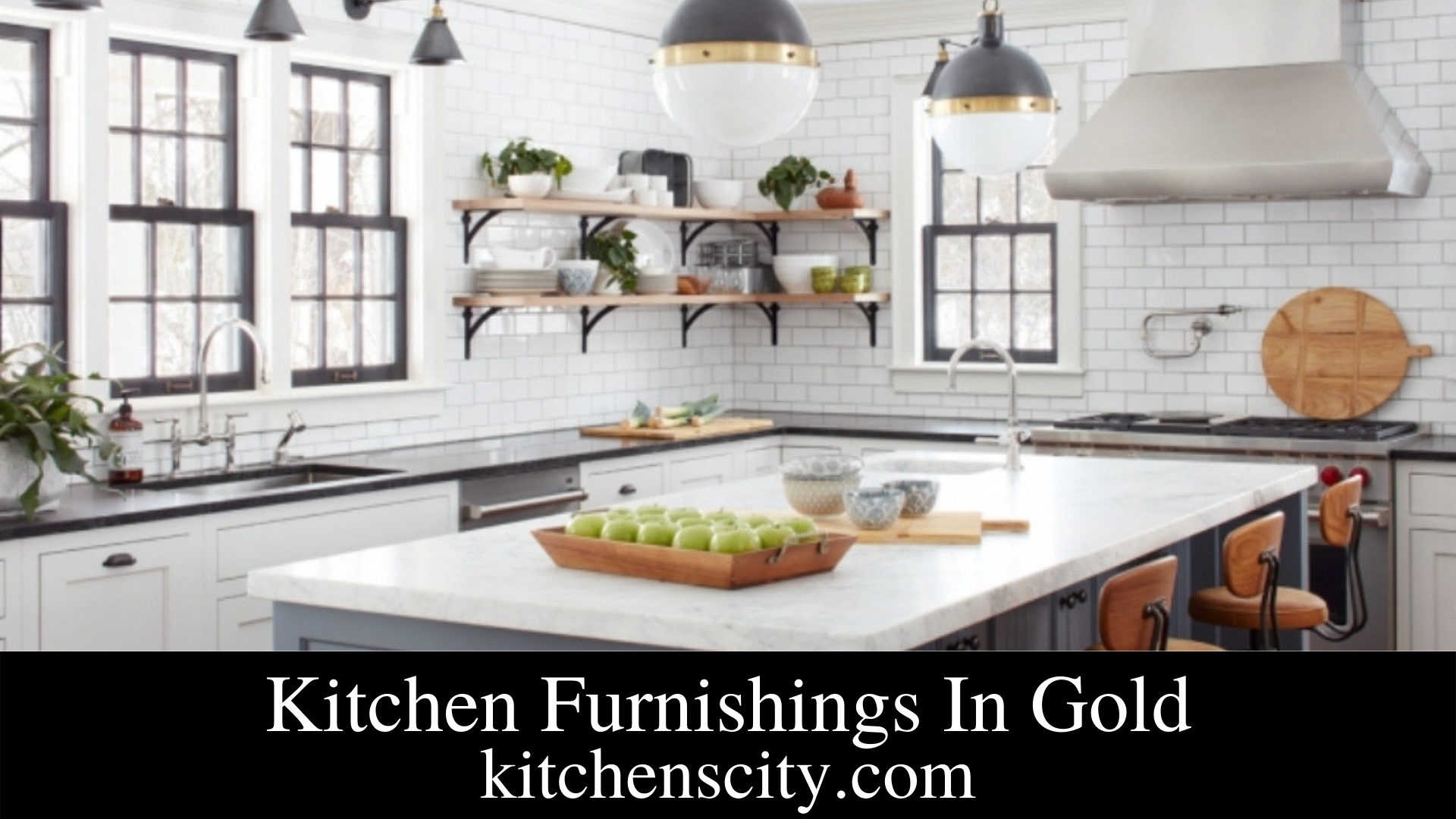 Kitchen Furnishings In Gold