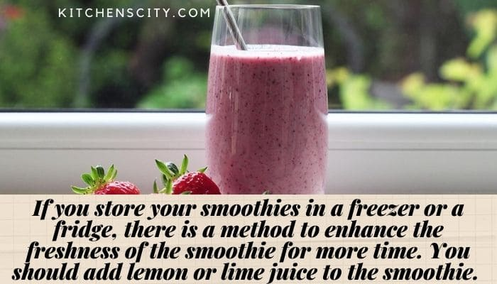 How Long Do Smoothies Last
