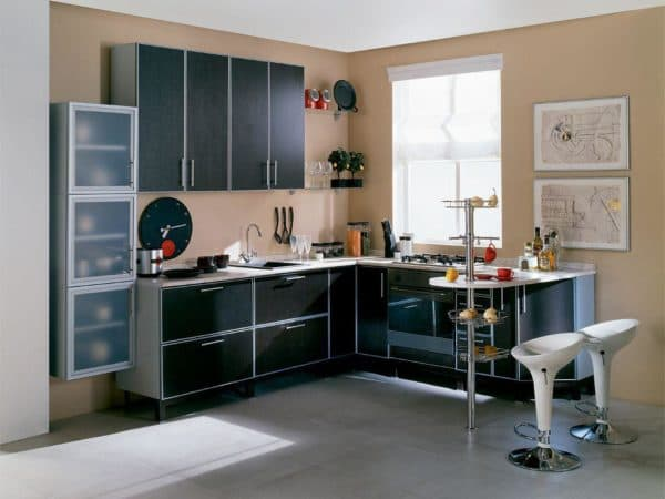 Roof rails in the kitchen how to place