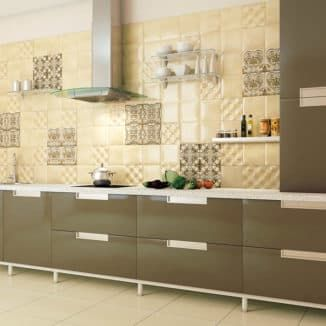 Finishing materials for kitchen walls